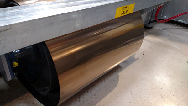 Thermwood LSAM VLP Teflon coated stainless steel belt